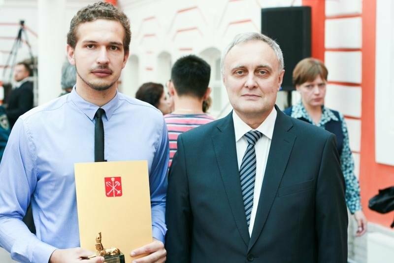 Лучшего выпускника СПбГАУ наградил губернатор Санкт-Петербурга, фото-2