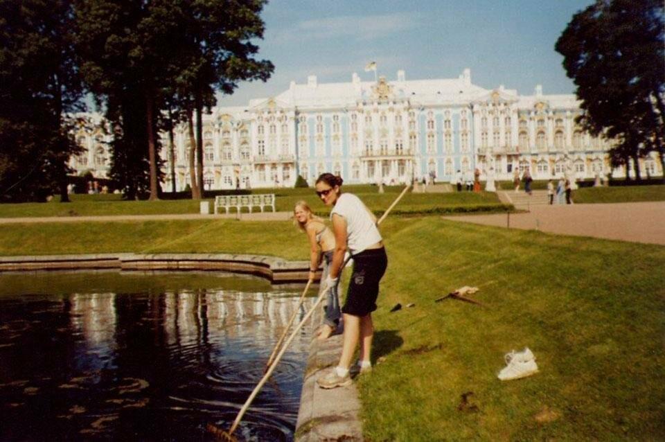 В ГМЗ «Царское Село» приехали волонтеры из Москвы, фото-1