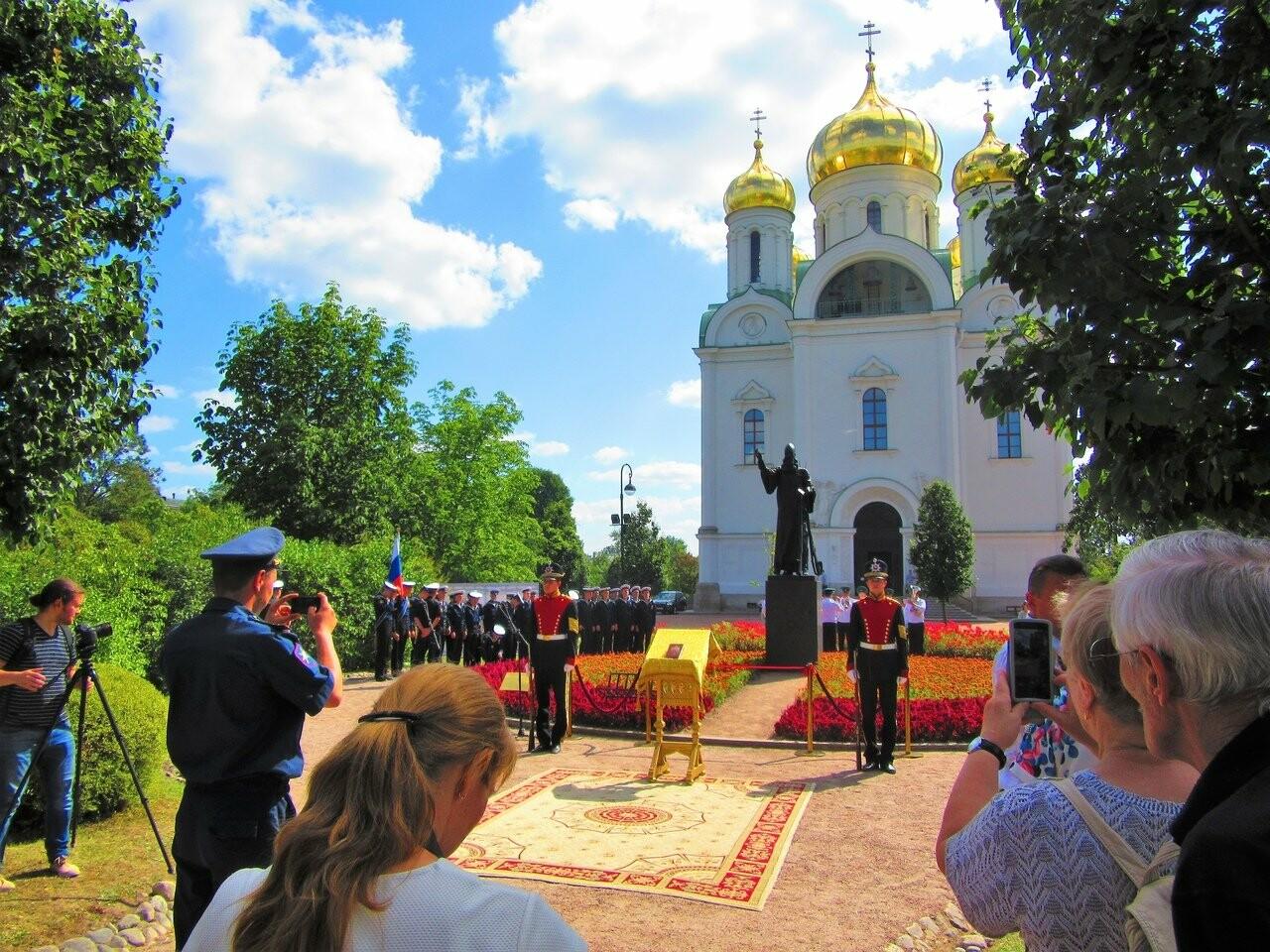 В Пушкине торжественно открыли памятник Великой войне «1914 год», фото-1